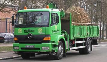 Camion de transport Thuilleaux