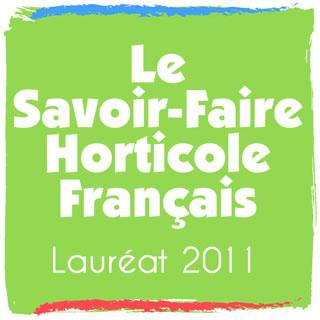 Lauréat  du Savoir Faire Horticole Français